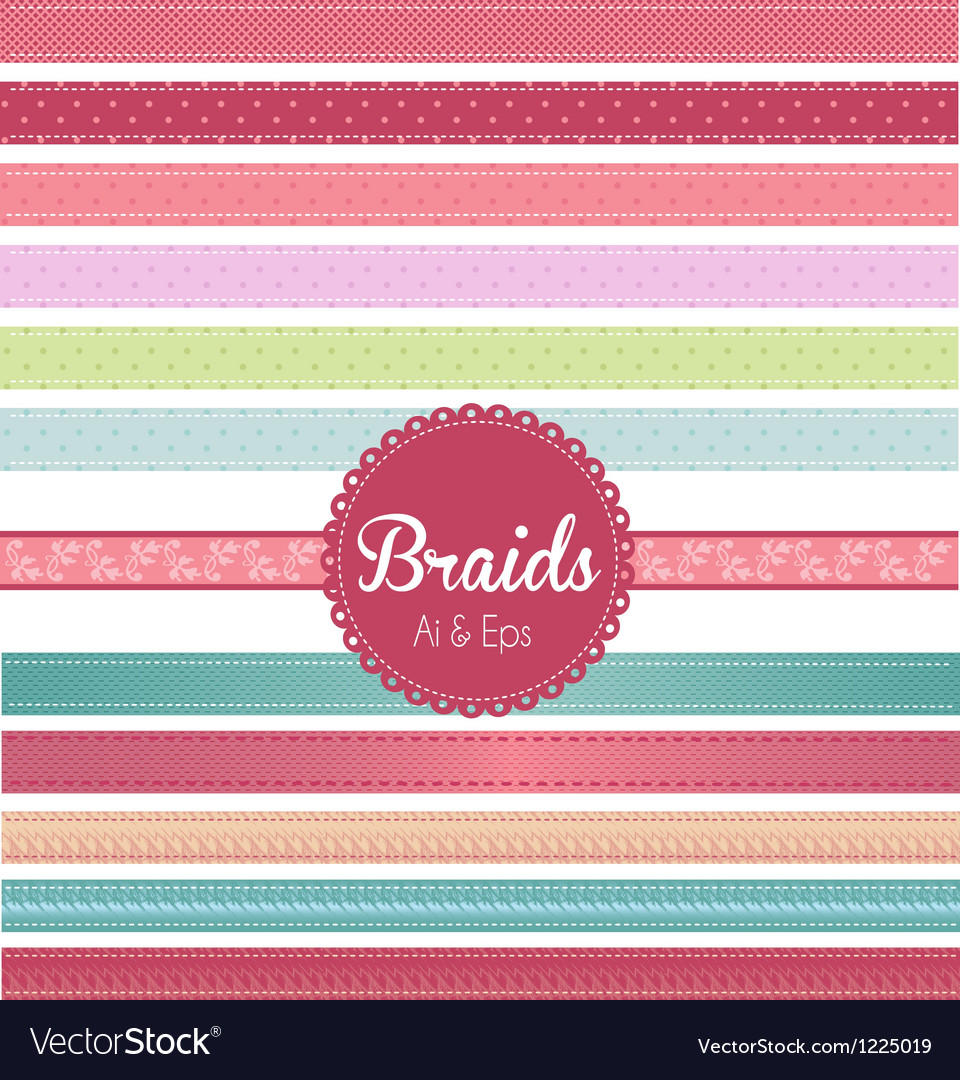 Braids vector | Price: 1 Credit (USD $1)
