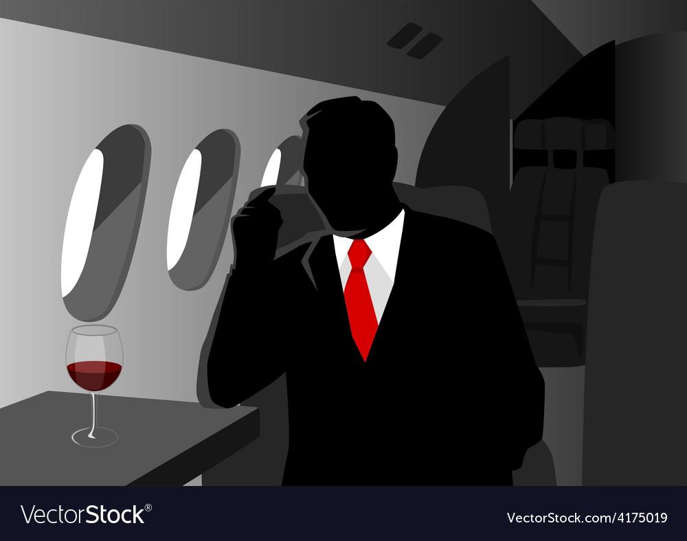 Executive flight vector | Price: 1 Credit (USD $1)