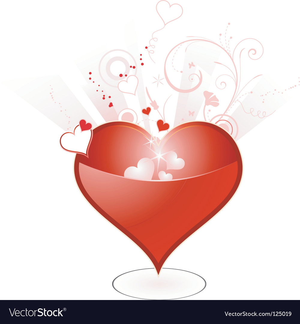 Valentine's day heart vector | Price: 1 Credit (USD $1)
