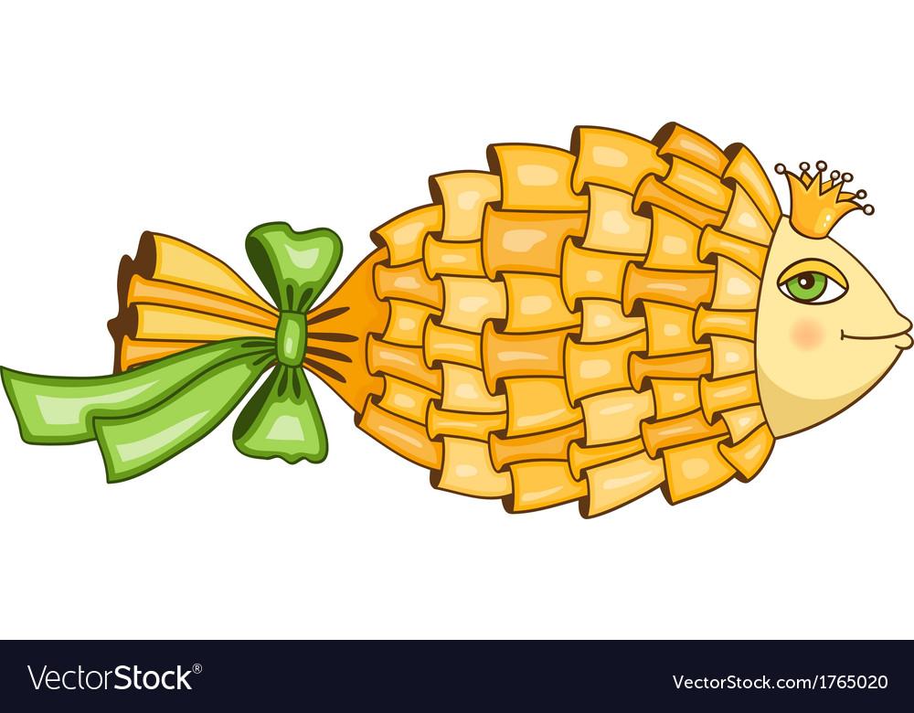 Goldfish symbol vector   Price: 1 Credit (USD $1)