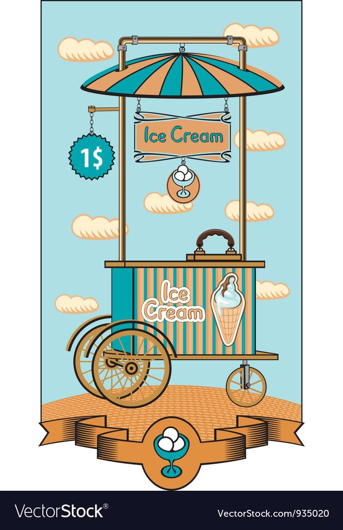 Ice cream shop vector | Price: 3 Credit (USD $3)