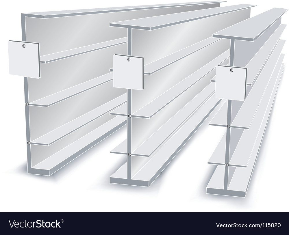 Shelves in store vector | Price: 1 Credit (USD $1)