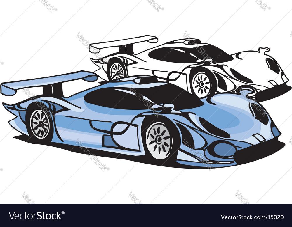 Sports car design vector | Price: 1 Credit (USD $1)