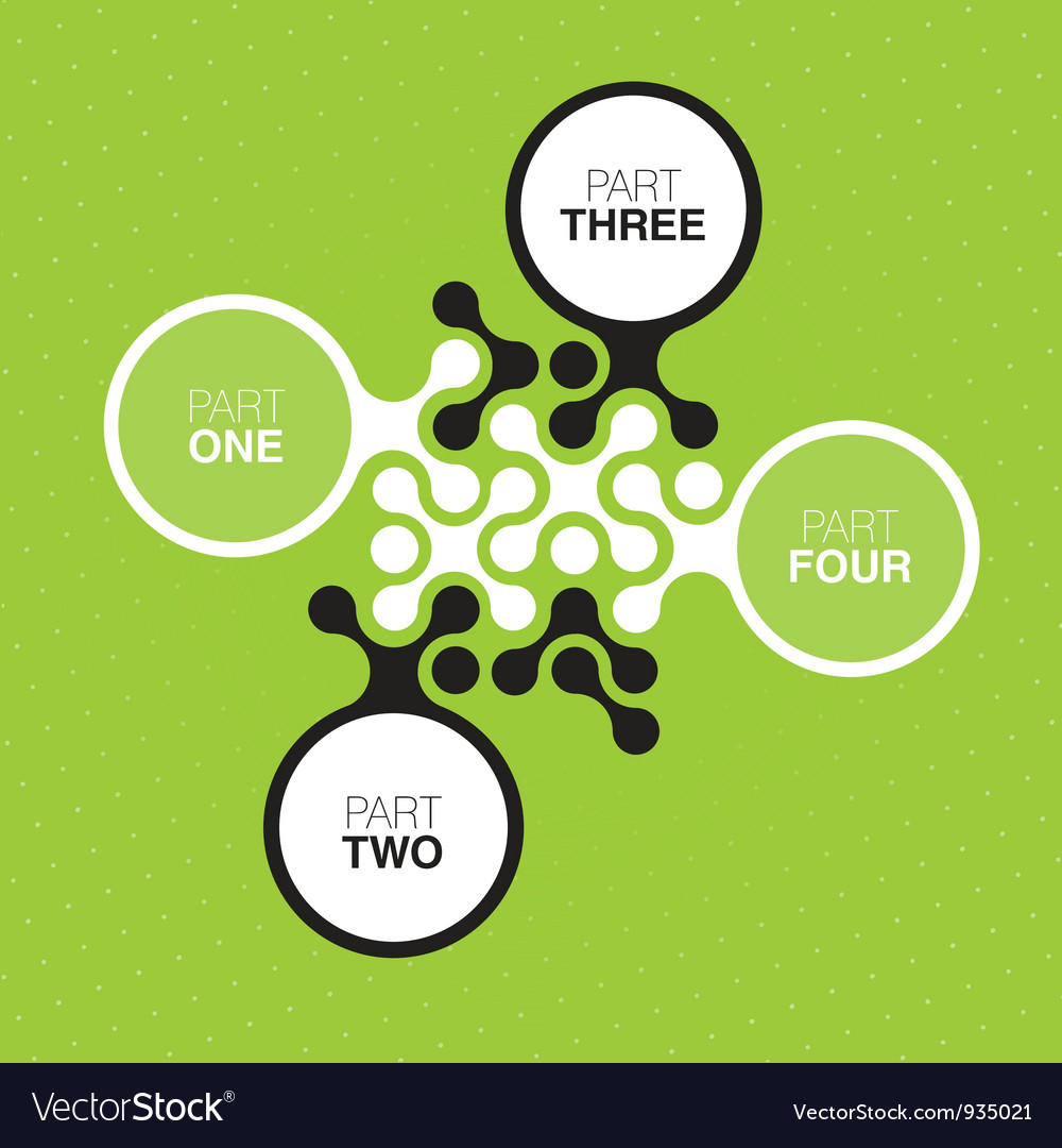 Abstract green buttons vector | Price: 1 Credit (USD $1)
