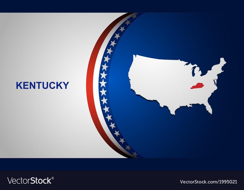 Kentucky vector | Price: 1 Credit (USD $1)