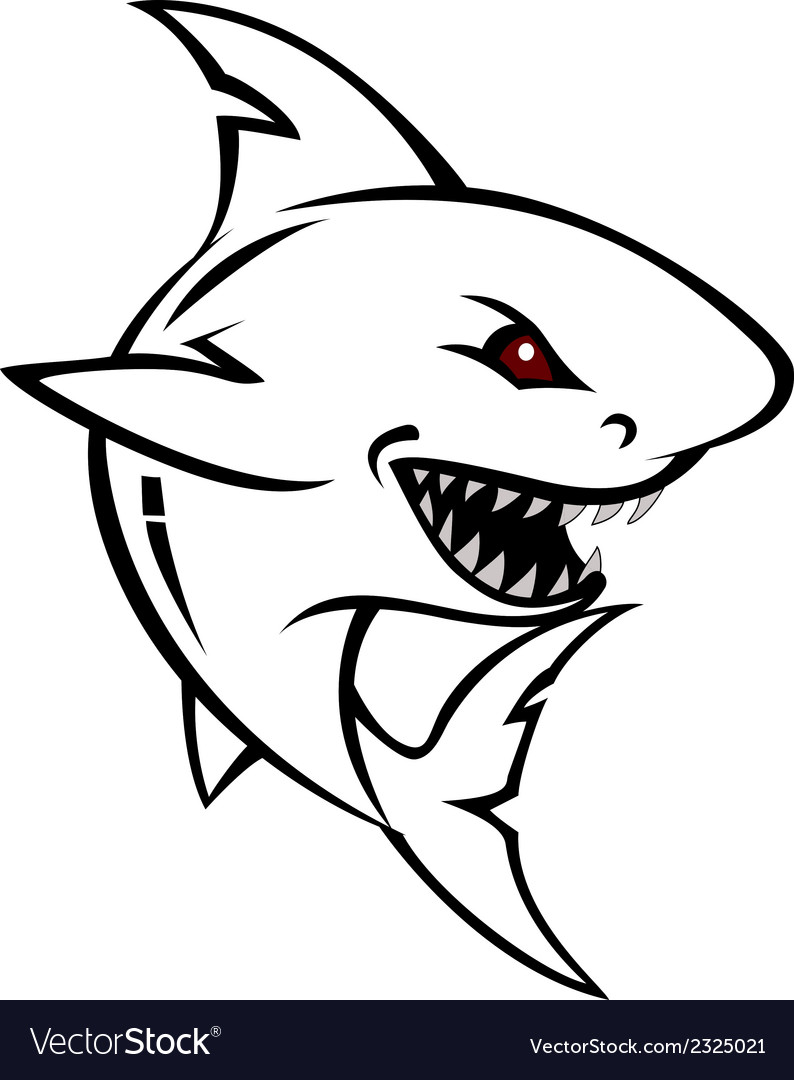 Shark tattoo for you design vector | Price: 1 Credit (USD $1)
