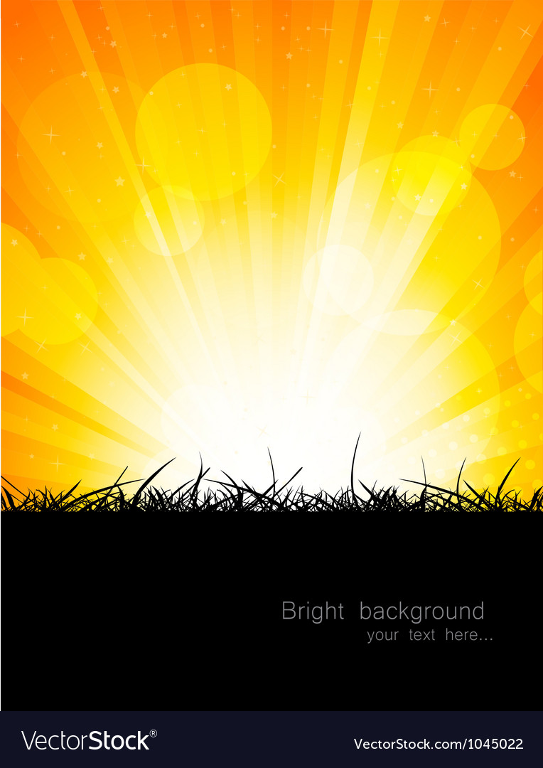 Bright orange background vector | Price: 1 Credit (USD $1)