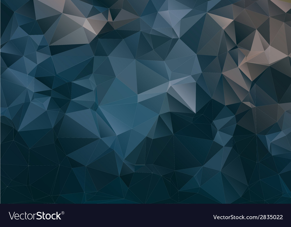 Dark abstract background polygon vector | Price: 1 Credit (USD $1)