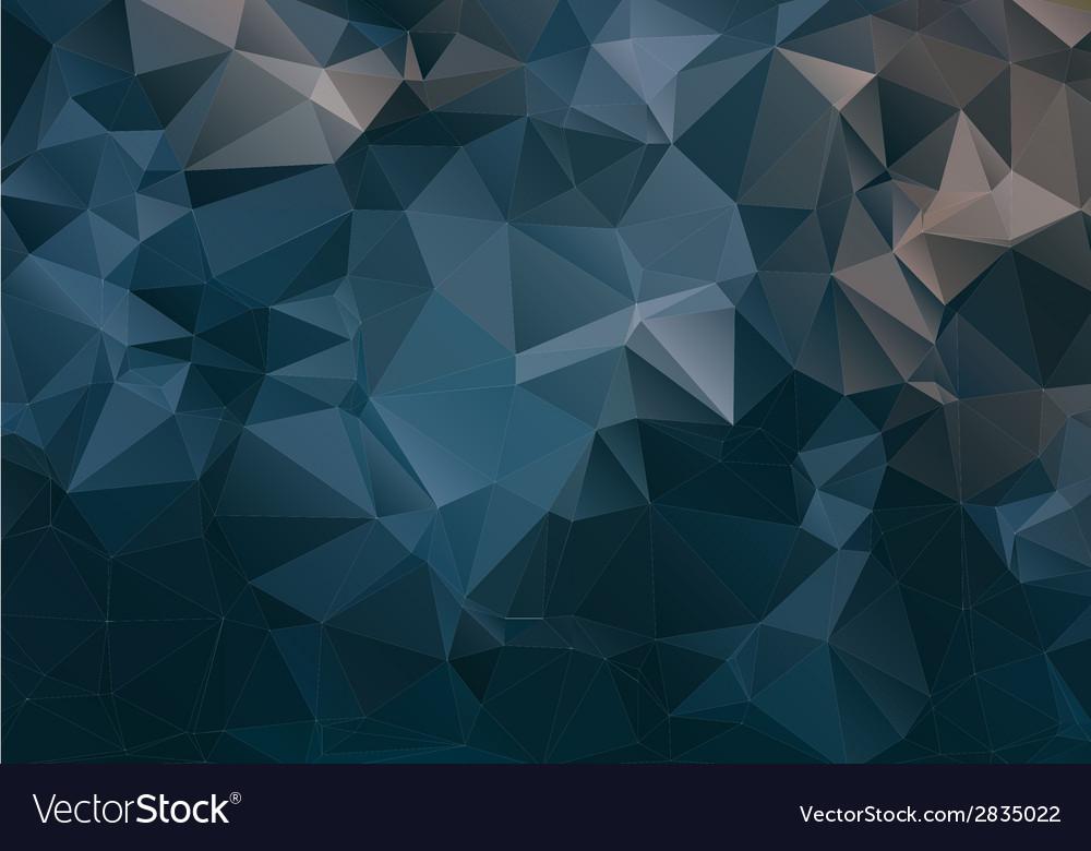 Dark abstract background polygon vector | Price: 1 Credit (USD $1)