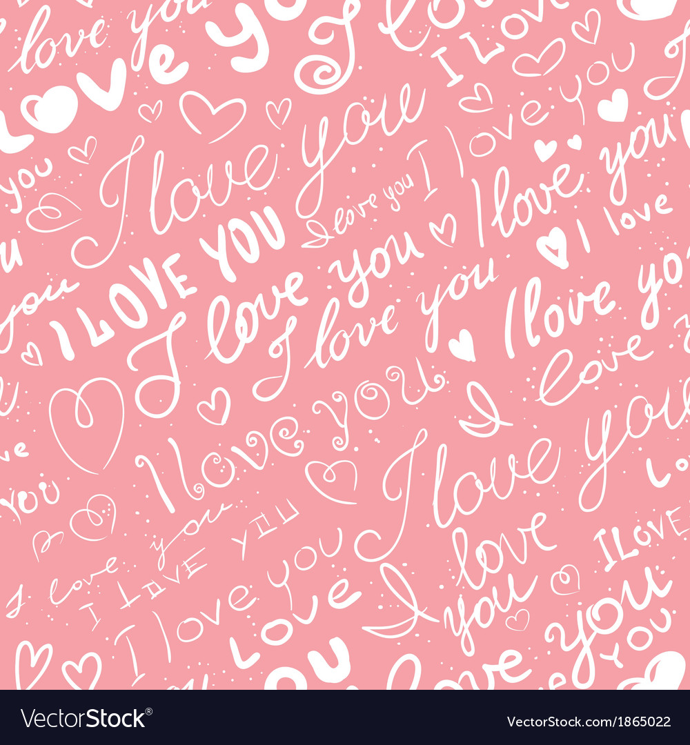 Love seamless vector | Price: 1 Credit (USD $1)
