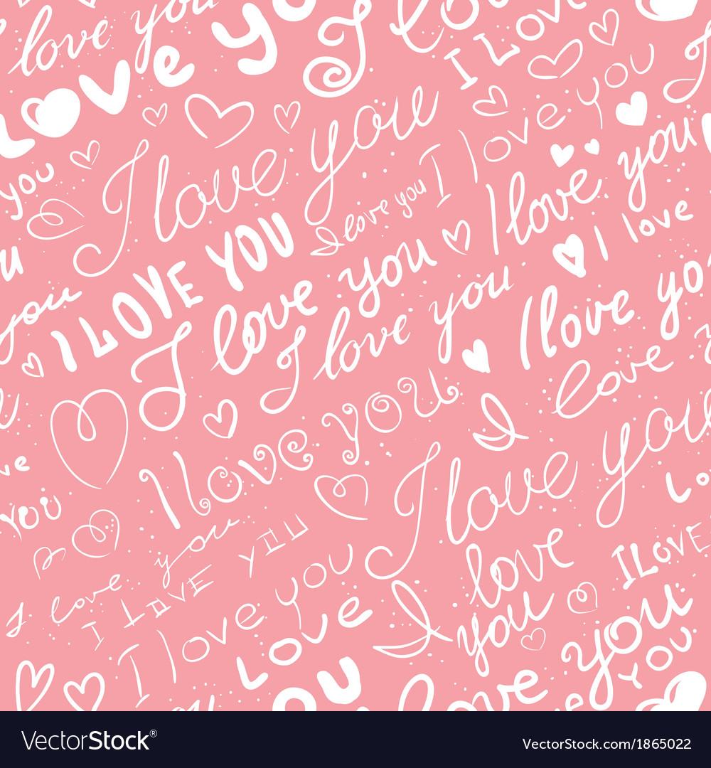 Love seamless vector | Price: 1 Credit (USD $1)