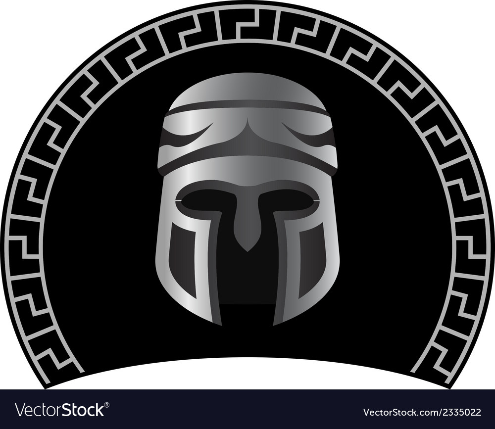 Medieval helmet vector | Price: 1 Credit (USD $1)
