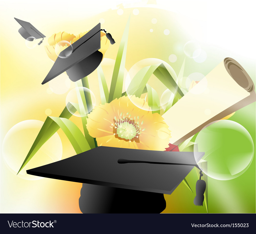 Happy graduation vector | Price: 1 Credit (USD $1)