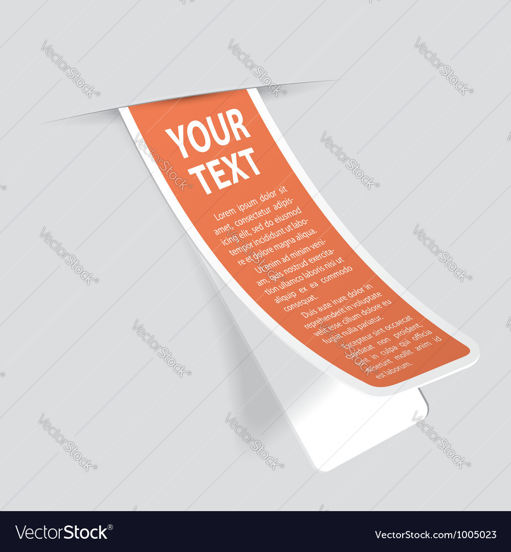 Sticker label vector | Price: 1 Credit (USD $1)