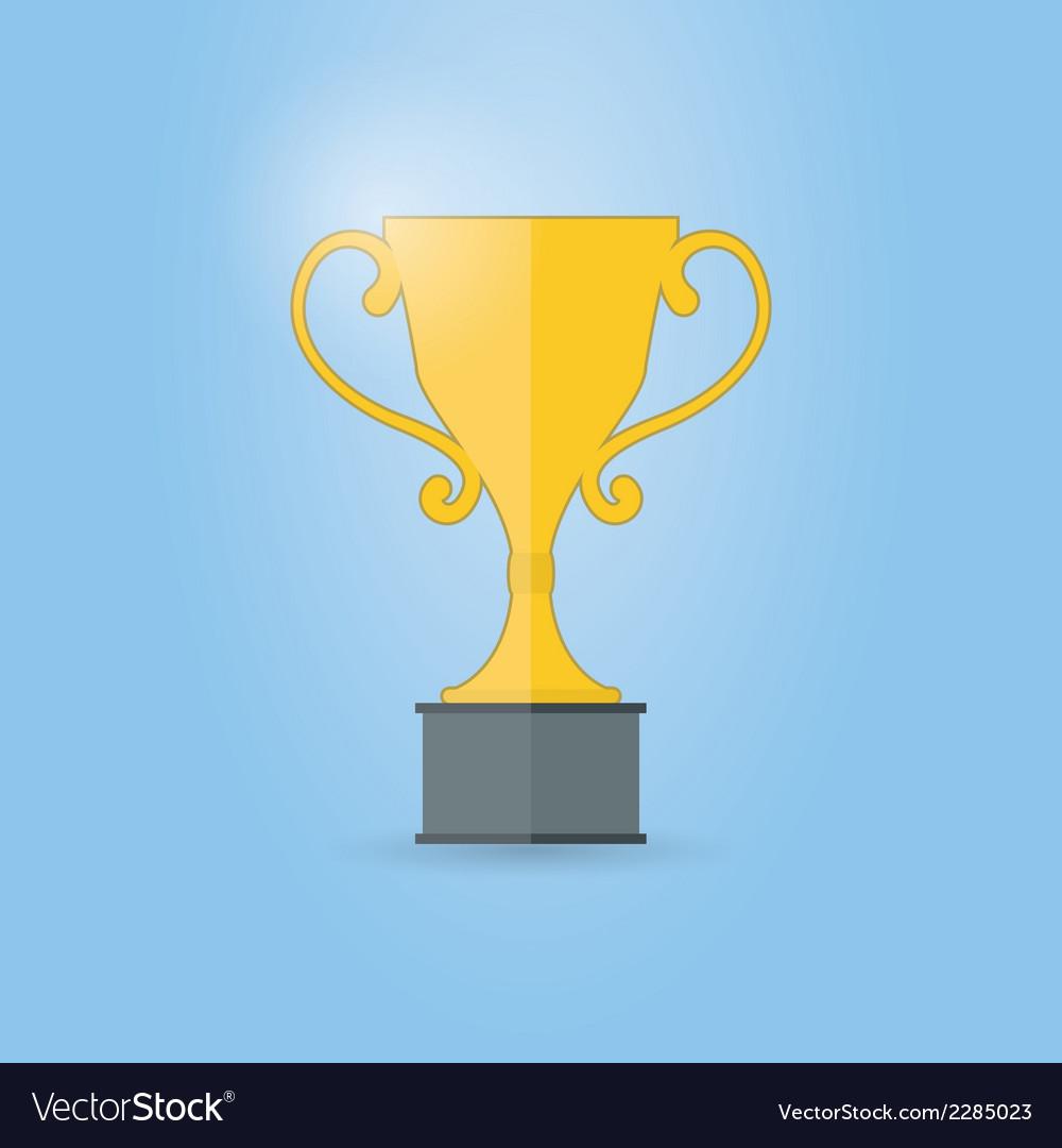 Trophy cup vector | Price: 1 Credit (USD $1)