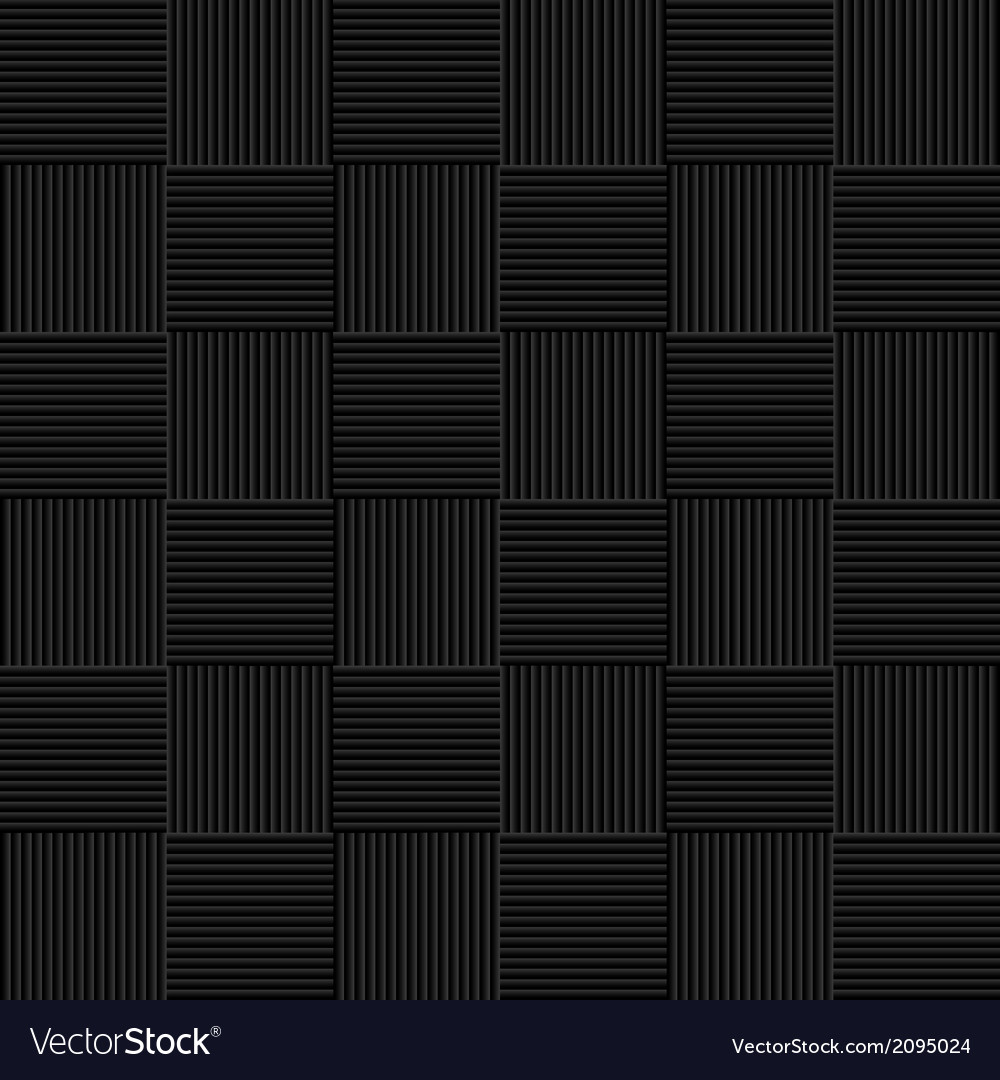 Black seamless wicker pattern vector | Price: 1 Credit (USD $1)