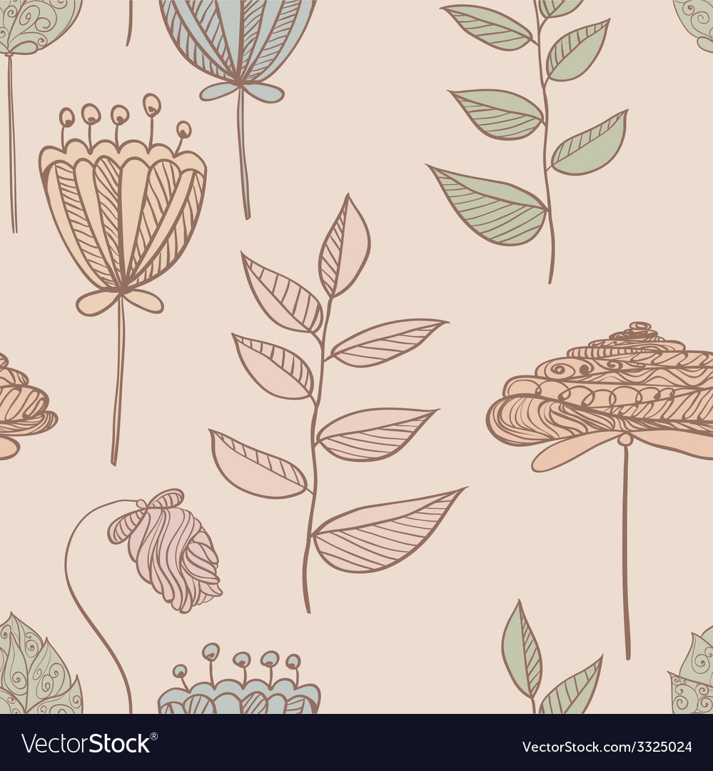 Botanicalpattern vector | Price: 1 Credit (USD $1)