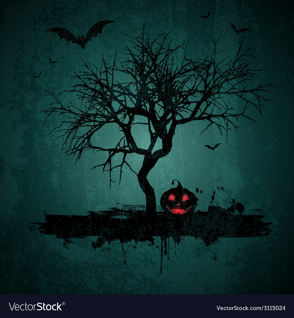 Grunge halloween background 2708 vector | Price: 1 Credit (USD $1)