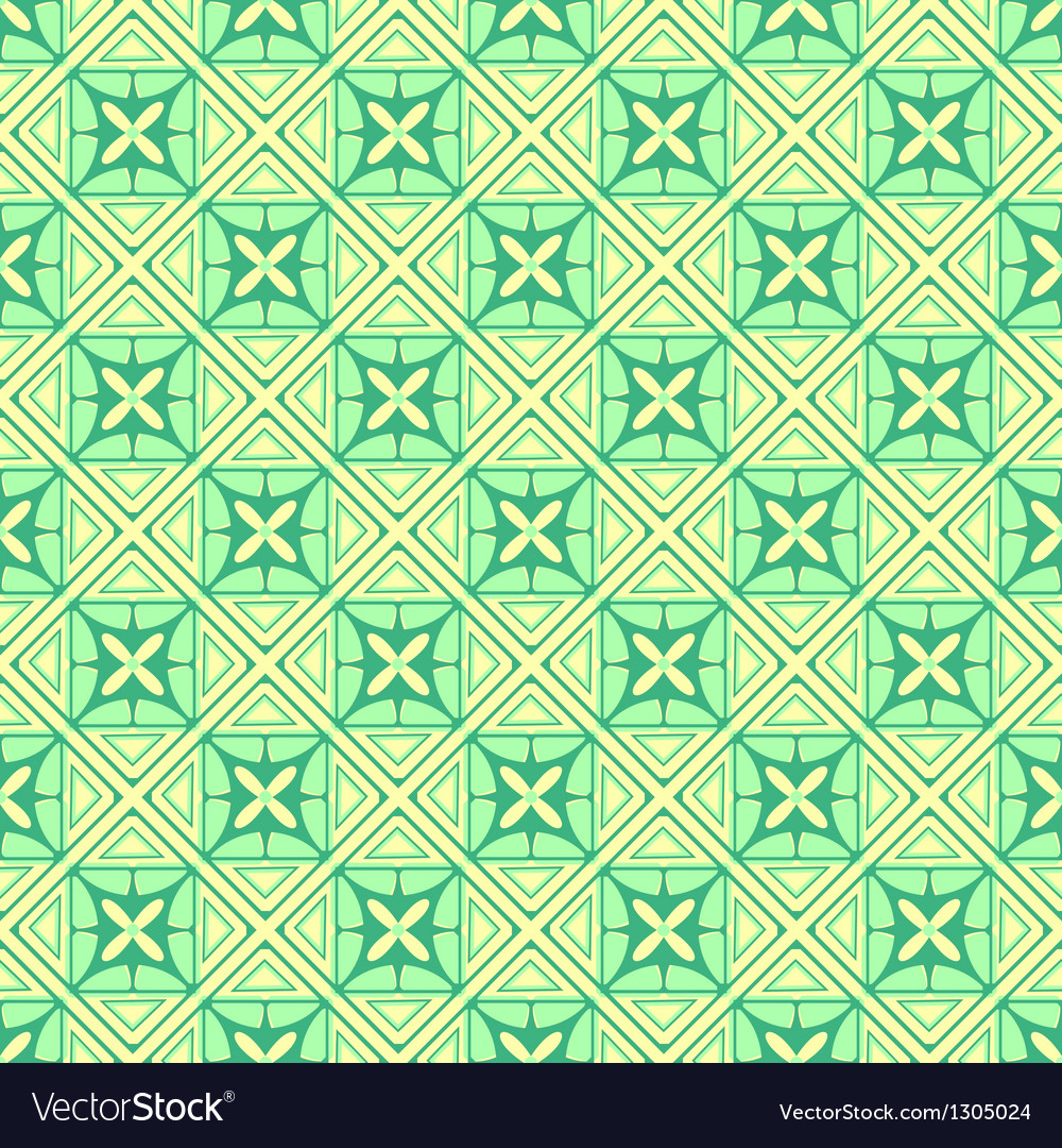 White green colors square grid pattern design vector | Price: 1 Credit (USD $1)