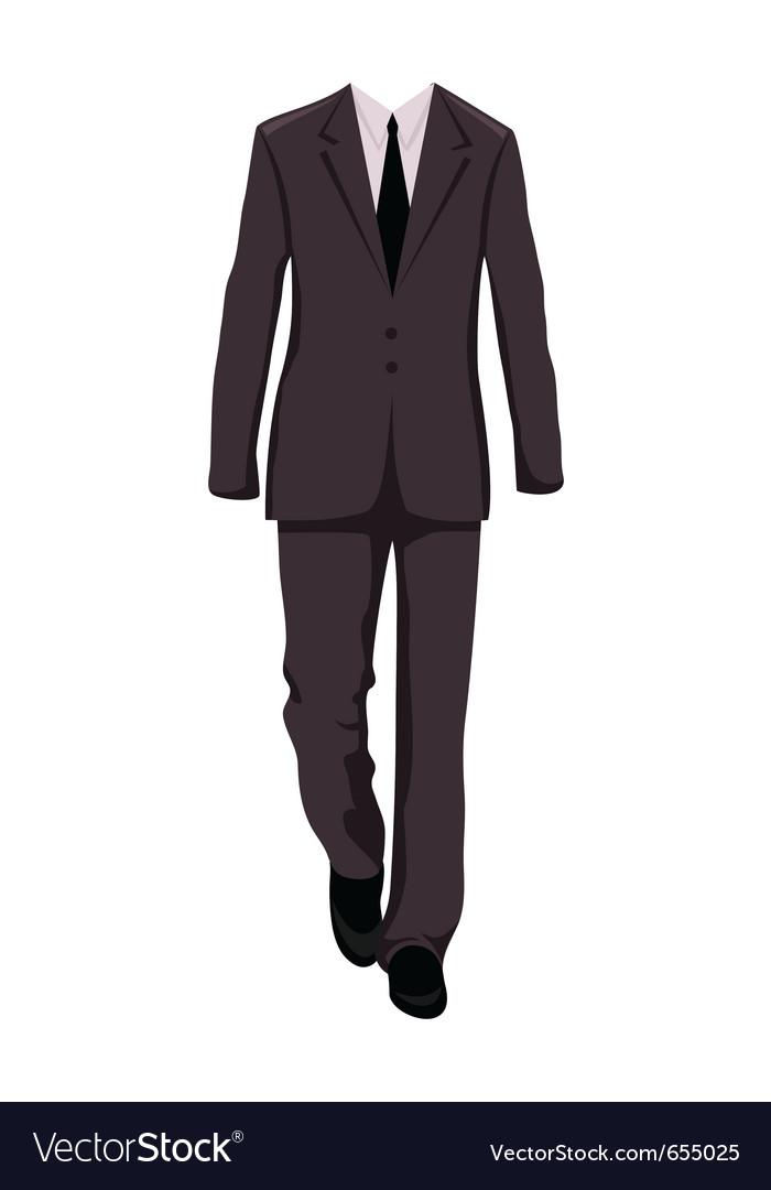 Male business suit design elements - vector   Price: 1 Credit (USD $1)