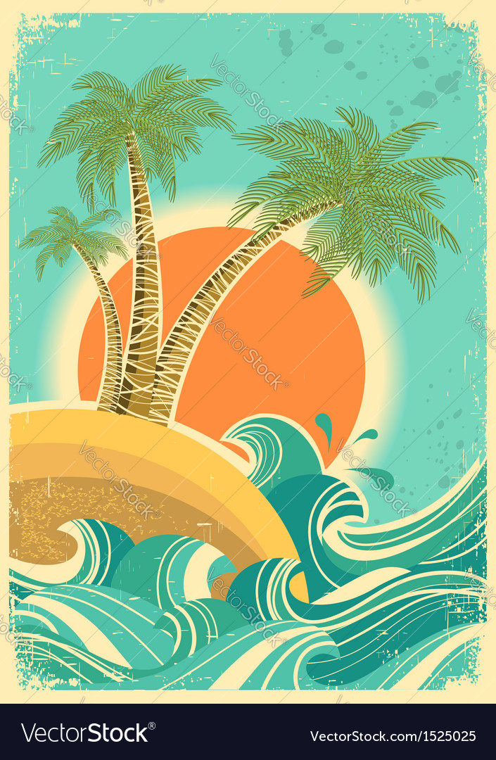 Vintage nature vector | Price: 1 Credit (USD $1)