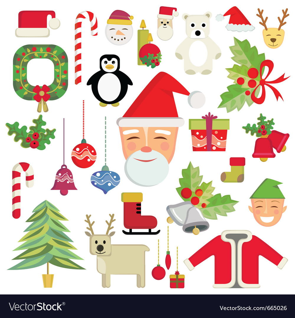Christmas icon vector | Price: 3 Credit (USD $3)