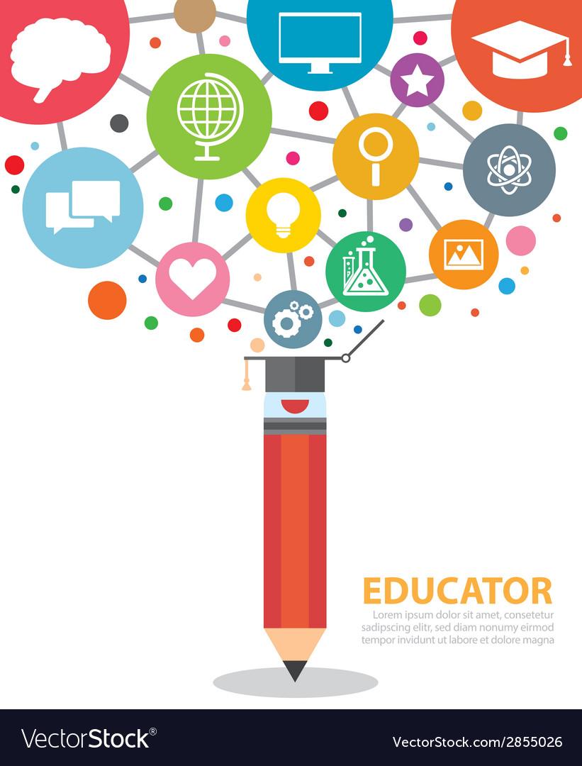 Educator vector   Price: 1 Credit (USD $1)