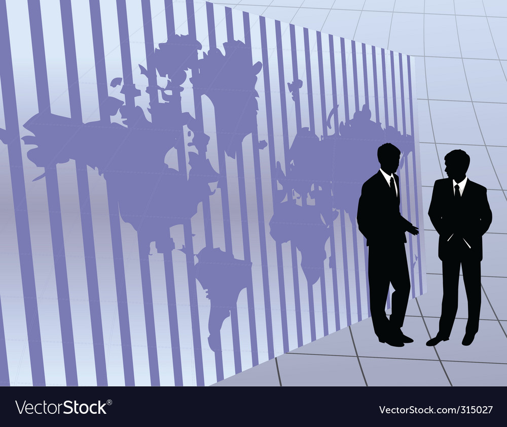 International business vector | Price: 1 Credit (USD $1)