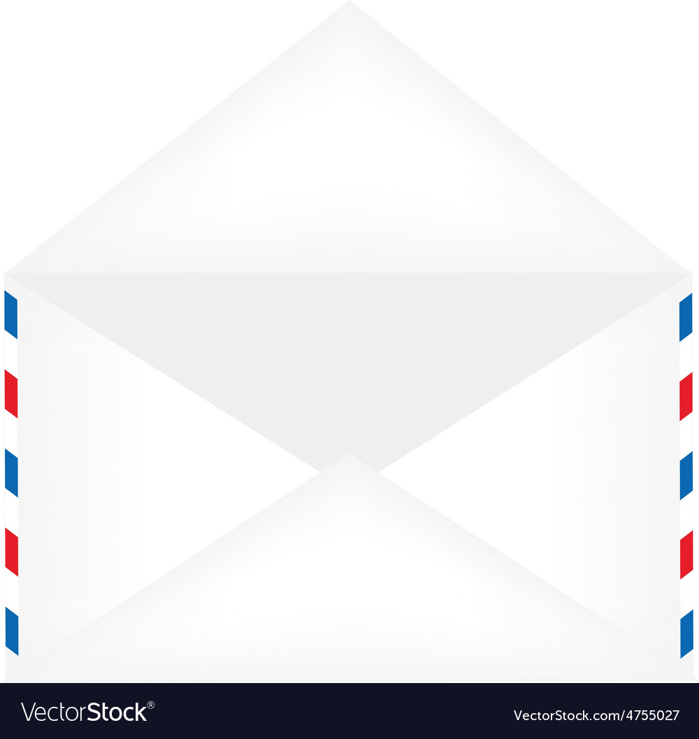 Opened envelope vector | Price: 1 Credit (USD $1)