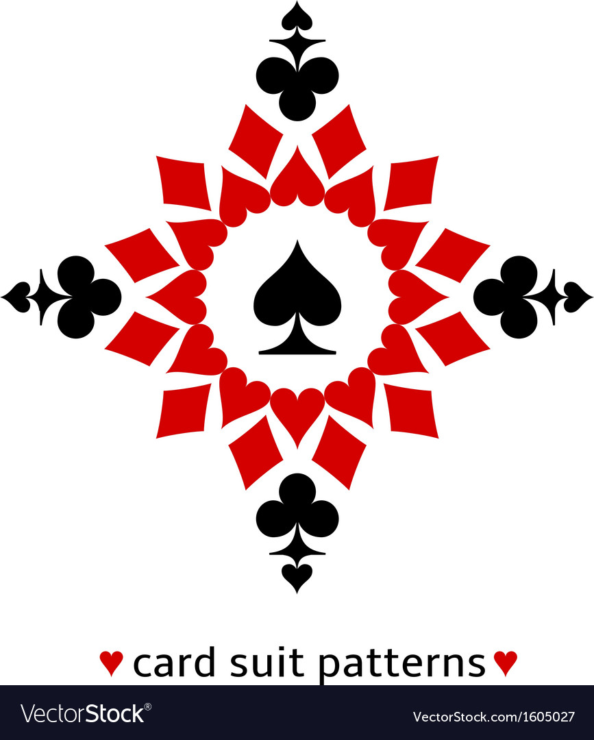 Spade card suit snowflake vector | Price: 1 Credit (USD $1)