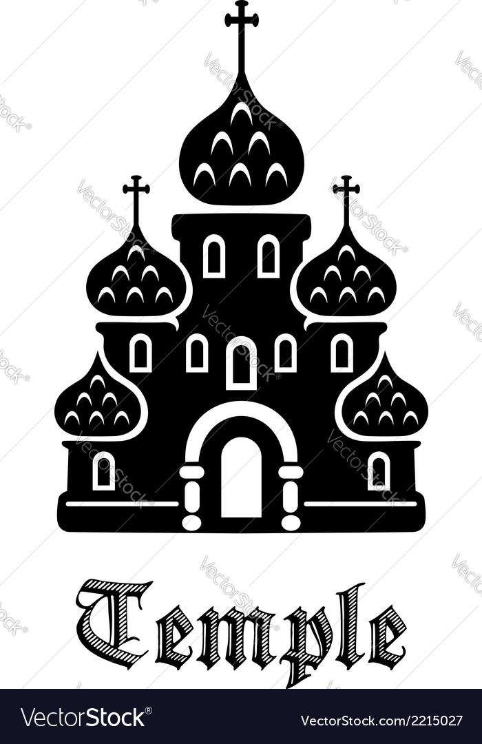Temple icon vector | Price: 1 Credit (USD $1)