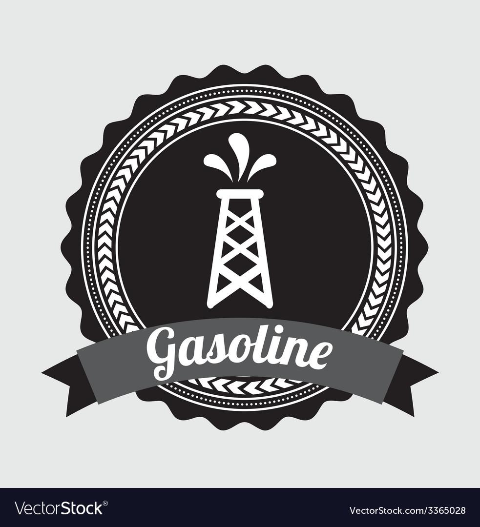 Gasoline design vector | Price: 1 Credit (USD $1)