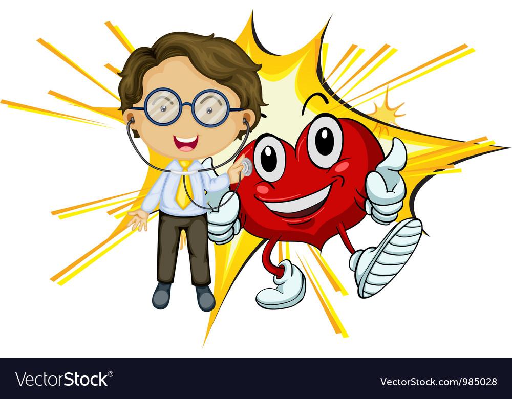 Heart health vector | Price: 1 Credit (USD $1)