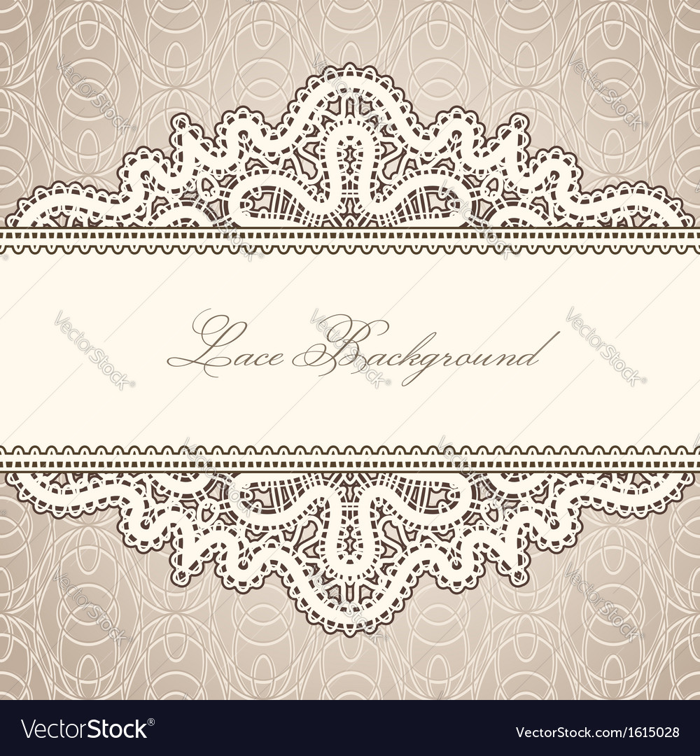 Old lace background vector | Price: 1 Credit (USD $1)
