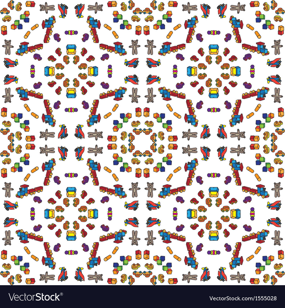 Toys pattern vector   Price: 1 Credit (USD $1)