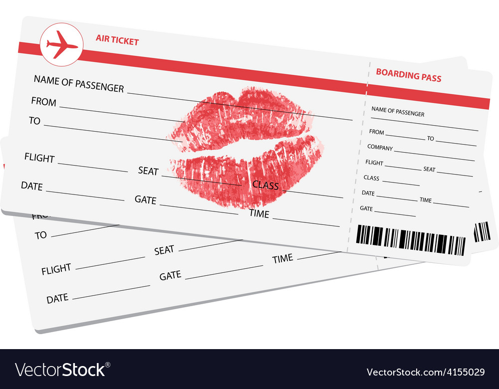 Air tickets vector   Price: 1 Credit (USD $1)