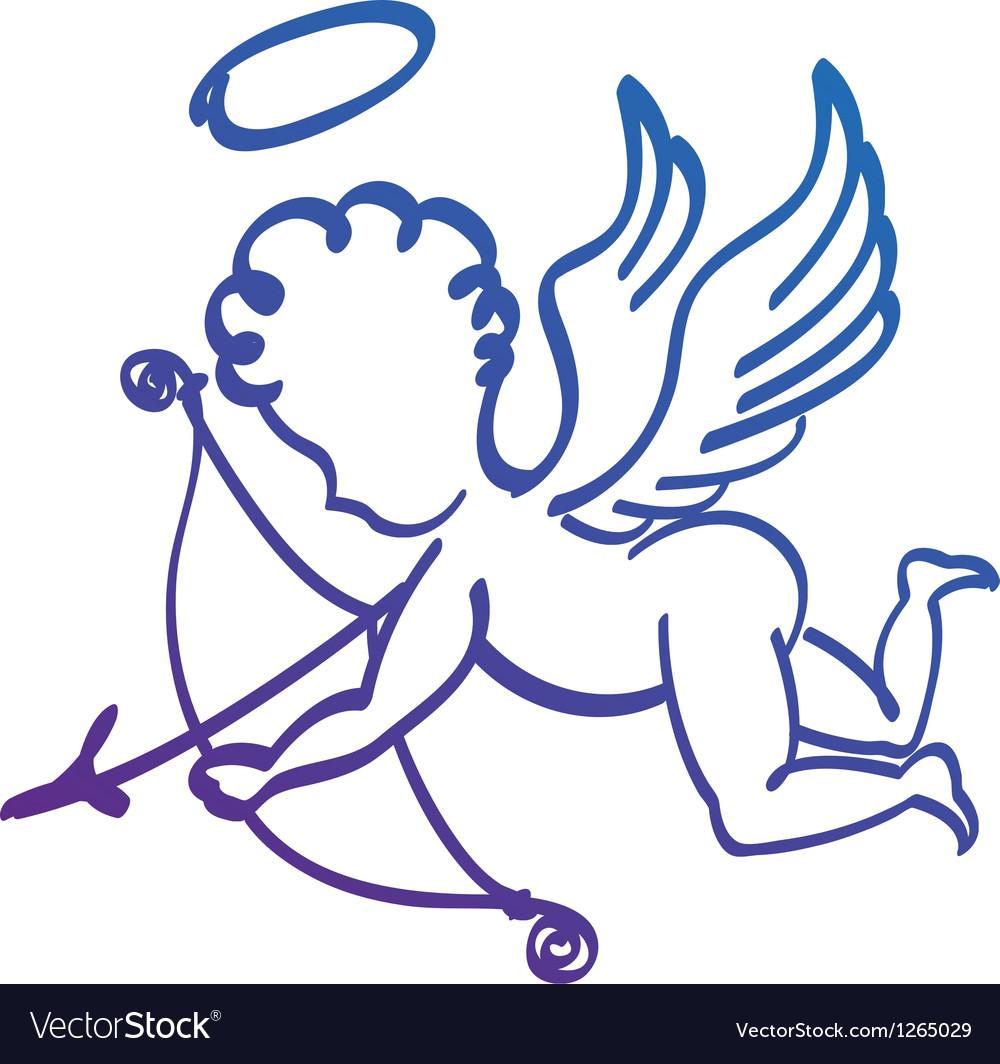 Ange vector | Price: 1 Credit (USD $1)