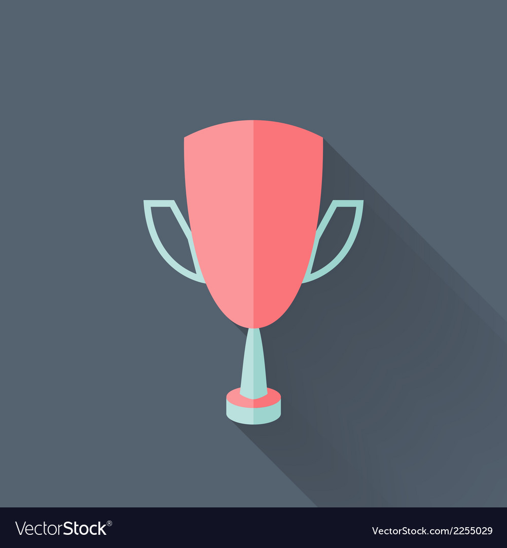 Flat cup icon vector | Price: 1 Credit (USD $1)