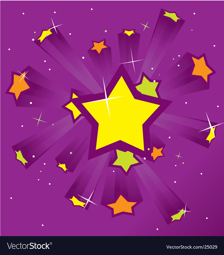 Purple starburst vector | Price: 1 Credit (USD $1)