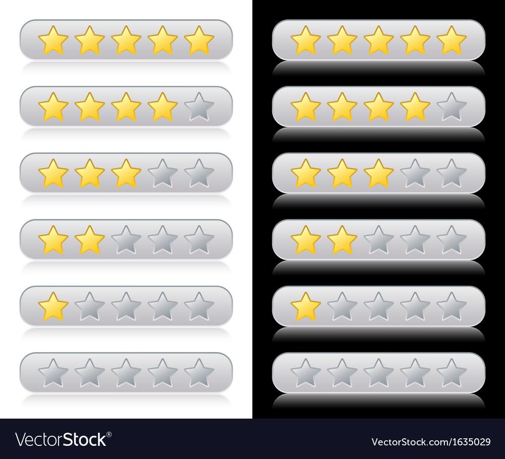 Rating stars vector   Price: 1 Credit (USD $1)