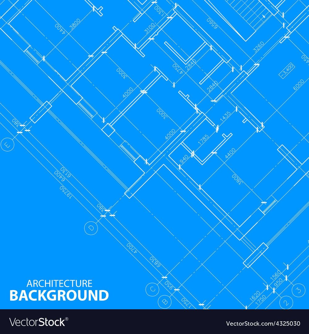 Blueprint best architecture background vector | Price: 1 Credit (USD $1)