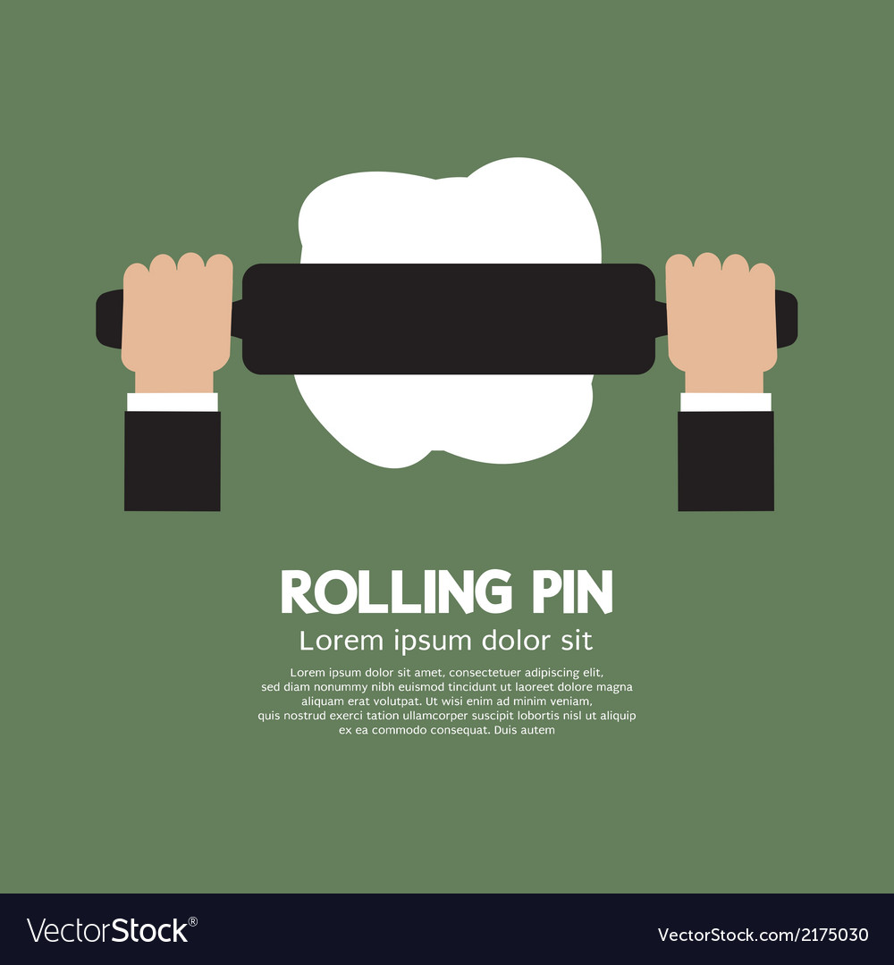 Rolling pin vector | Price: 1 Credit (USD $1)
