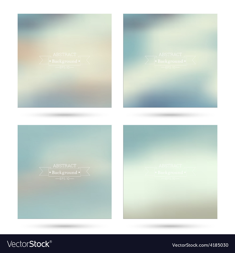 Set of colorful abstract backgrounds vector   Price: 1 Credit (USD $1)
