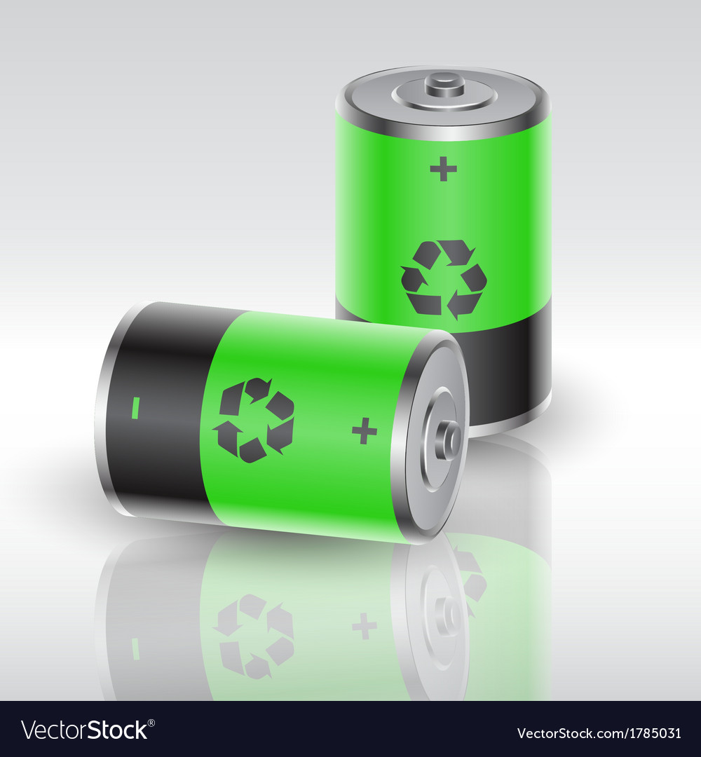 Battery 4 vector | Price: 1 Credit (USD $1)