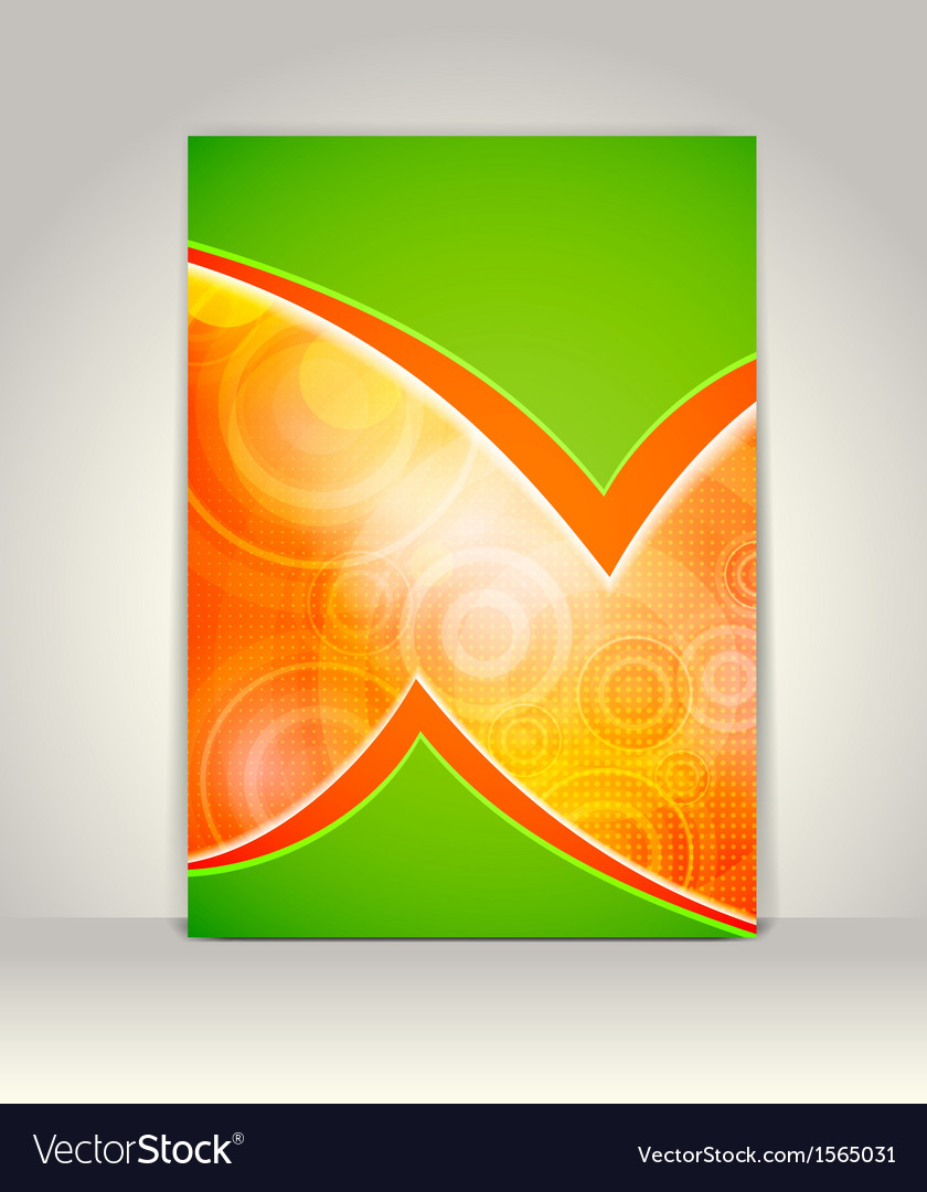 Flyer or brochure template abstract colorful desig vector   Price: 1 Credit (USD $1)