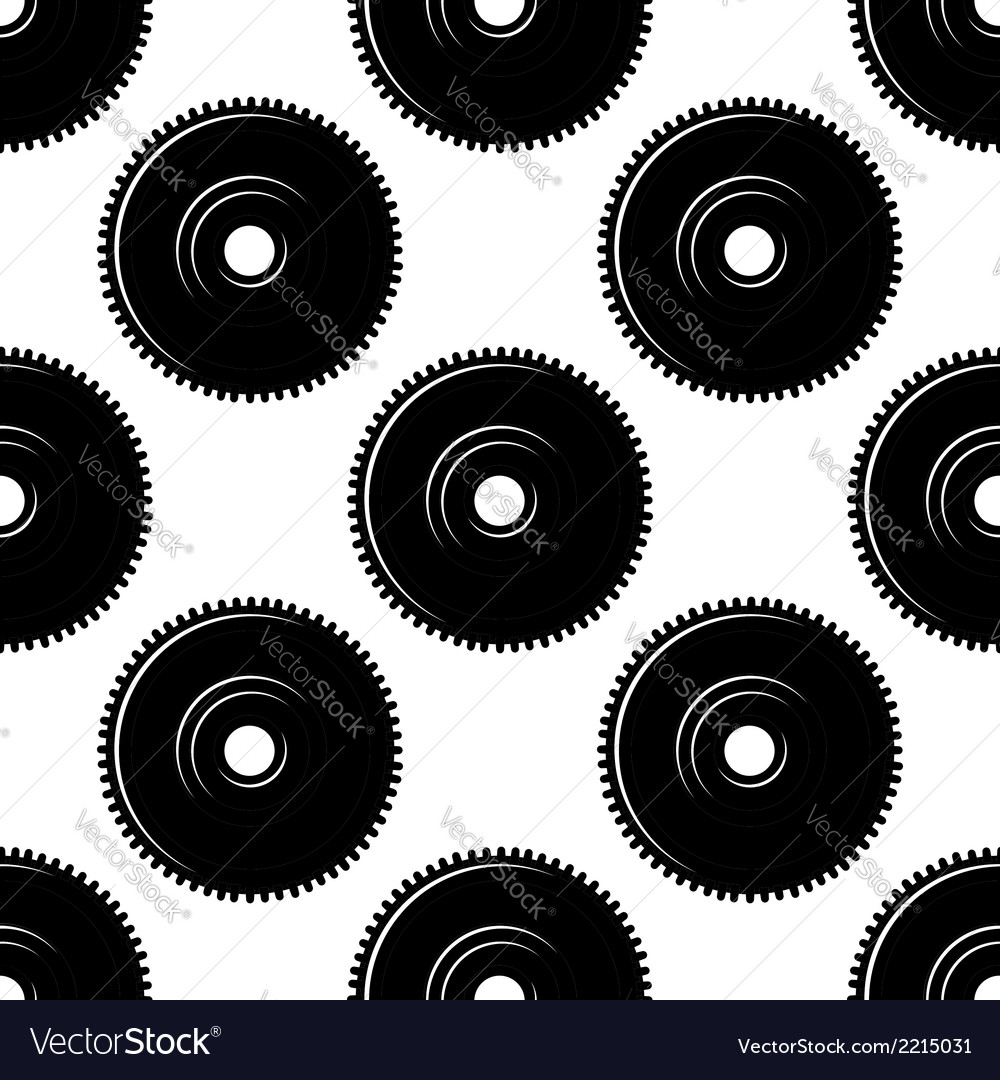 Pinions seamless pattern vector | Price: 1 Credit (USD $1)