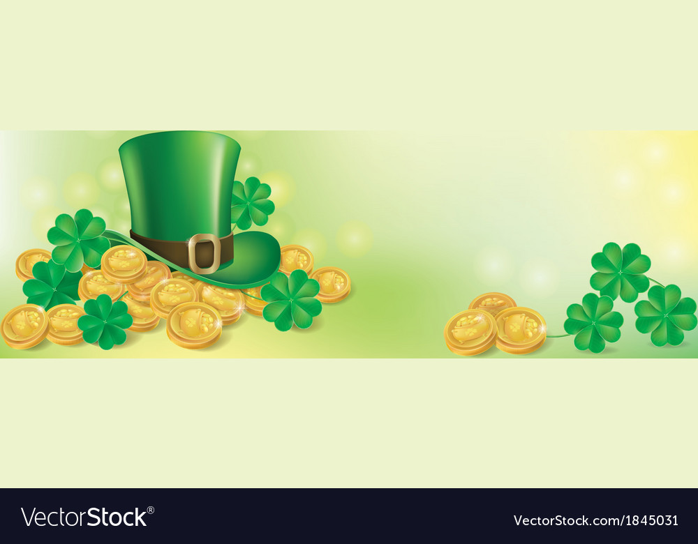 St patrick day background vector | Price: 3 Credit (USD $3)