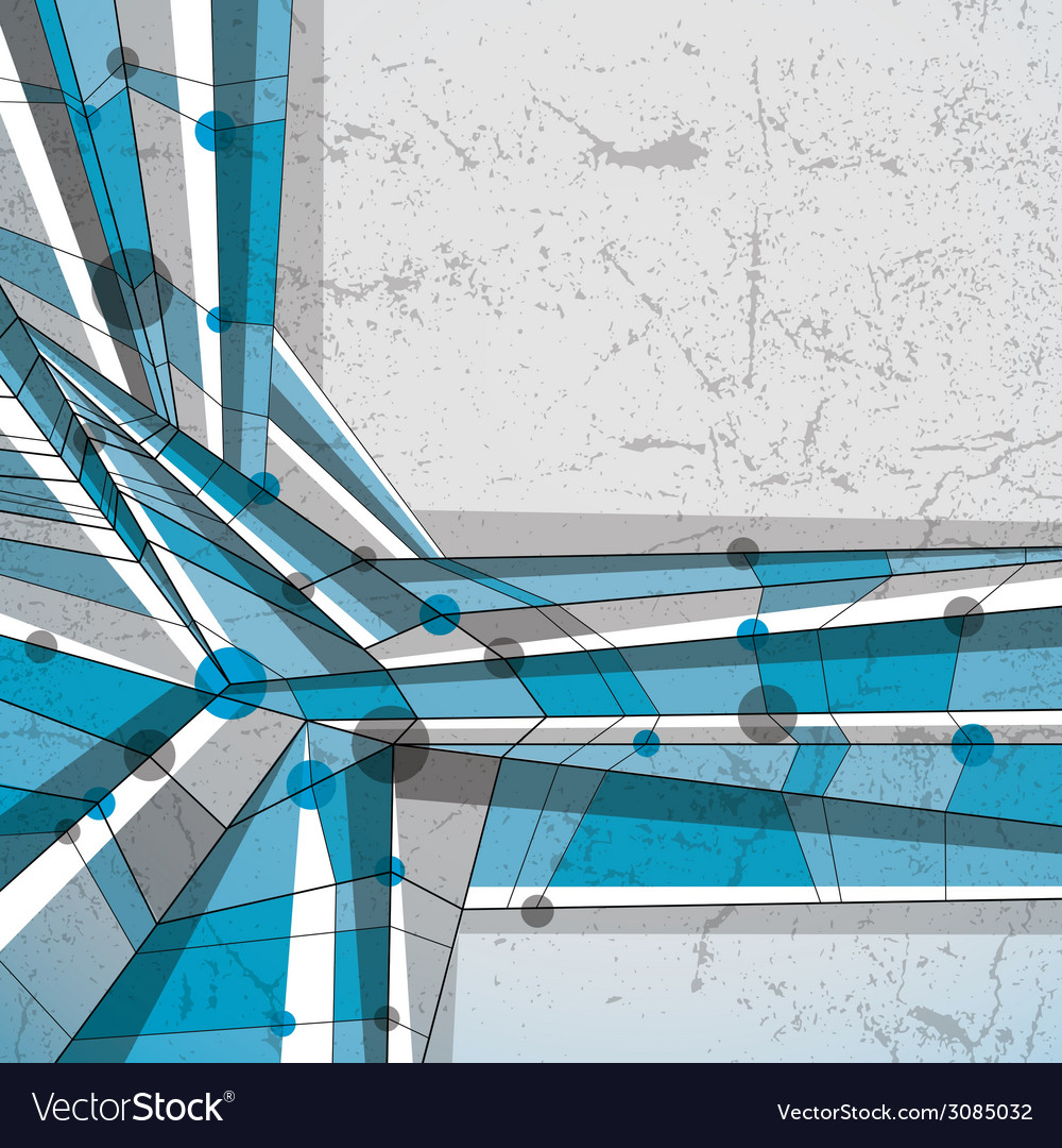 Abstract geometric background modern style vector | Price: 1 Credit (USD $1)