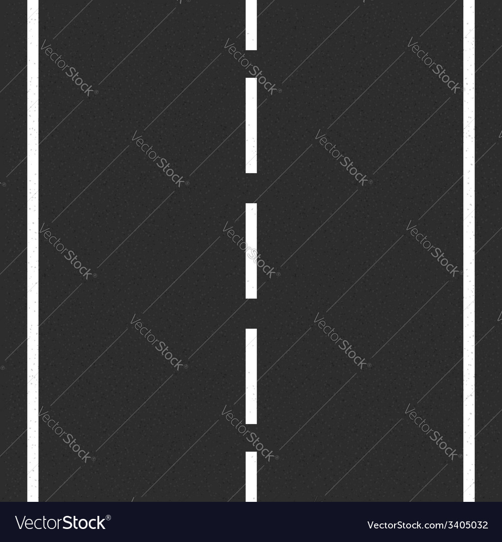 Asphalt road vector | Price: 1 Credit (USD $1)