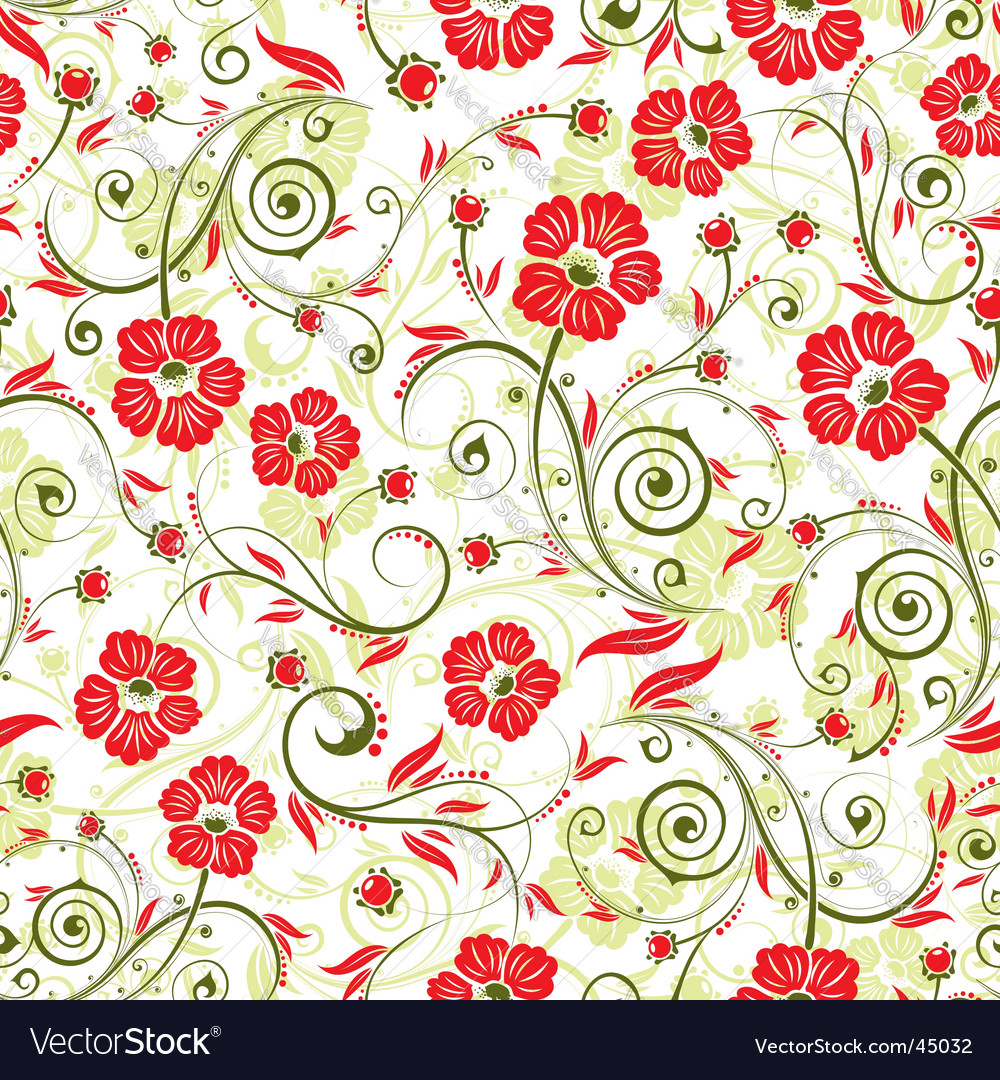 Floral image vector | Price: 1 Credit (USD $1)